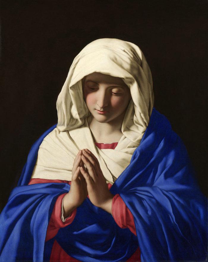Sassoferrato, The Virgin in Prayer (1640-1650)
